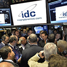 IDC was listed on Toronto Stock Exchange